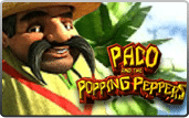 Paco and Popping Peppers 3D Video Slot