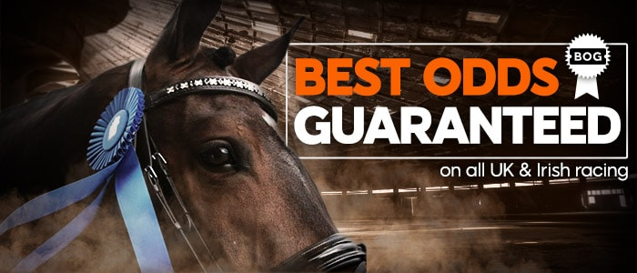 888sport now offers Best Odds Guaranteed on all UK & Irish Horse Racing