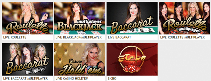 Live Dealers at GoWild Casino