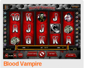 Blood Vampire 5 Reel Video Slot at TigerGaming Casino