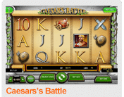 Caesars Battle Slots at TigerGaming Casino