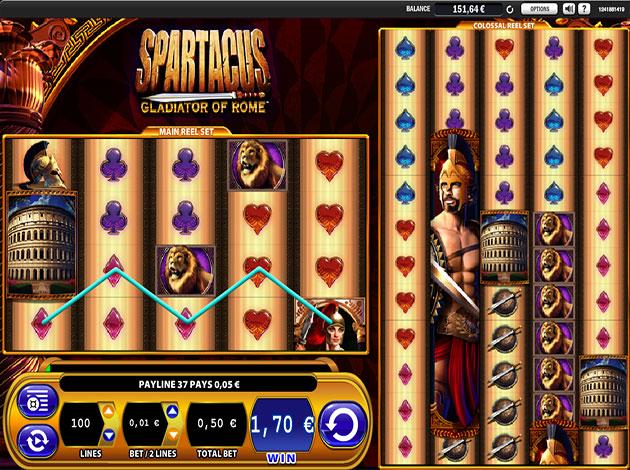 Spartacus video slots slots bar x