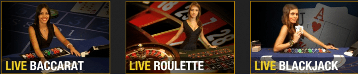 Live Dealer Games at BetBit Casino