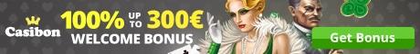 Get a €300 Welcome Bonus at Casibon Casino
