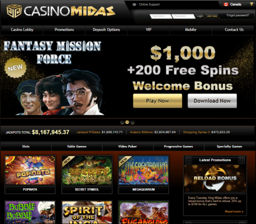 Casino Midas | $1,000 Bonus + 200 Spins | Guide To Gambling