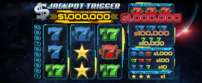 Jackpot Trigger at CryptoSlots