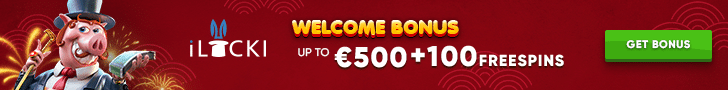Get a $/€500 Welcome Bonus + 100 Free Spins at iLUCKI Casino