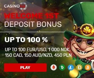 Get a 100% Welcome Bonus at Casino4U